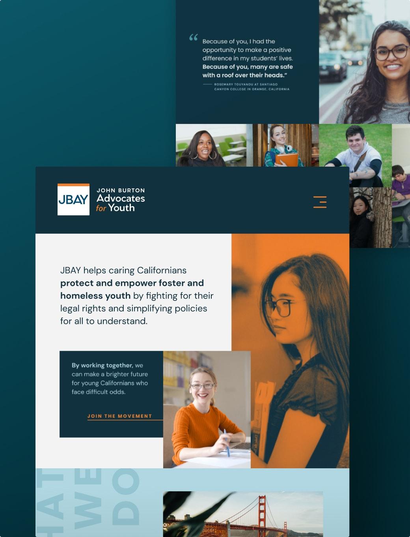 Brave Factor JBAY Website Design Development