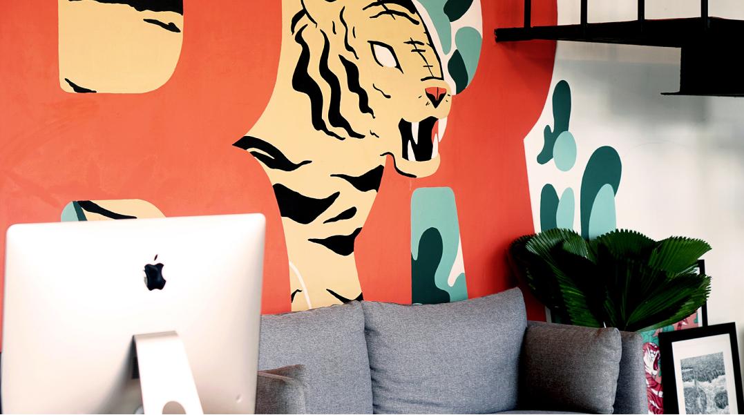 Brave Factor office Mural