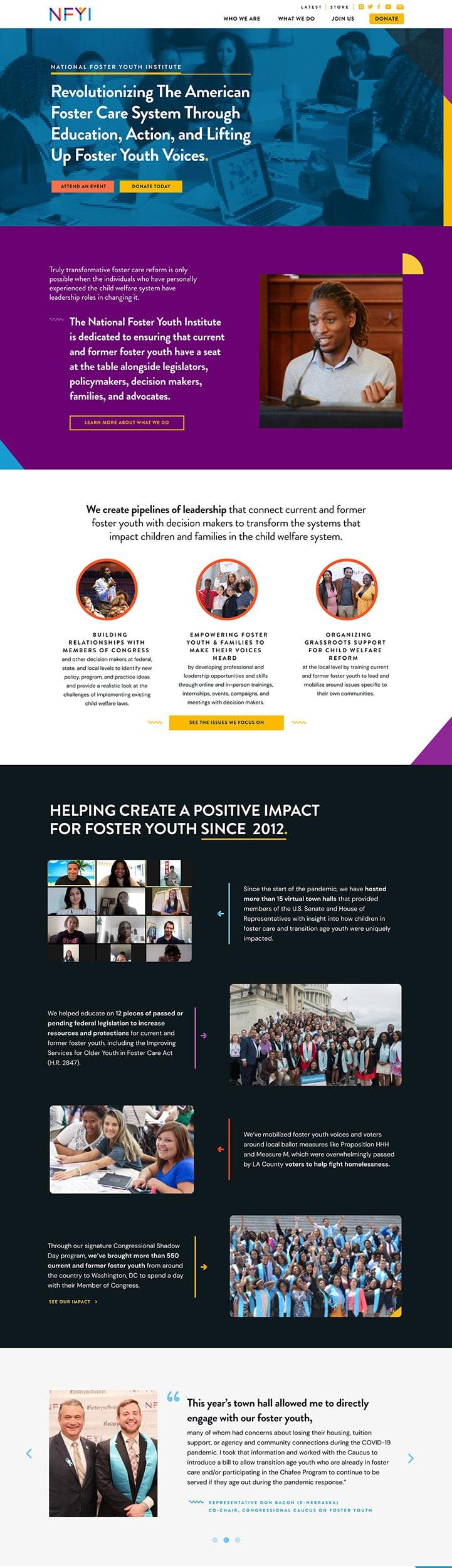 Brave Factor website home page