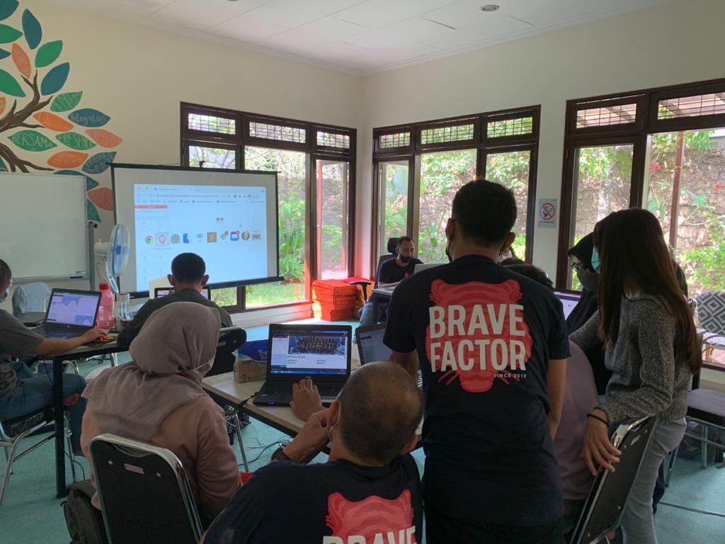 Brave Factor Makadaya workshop