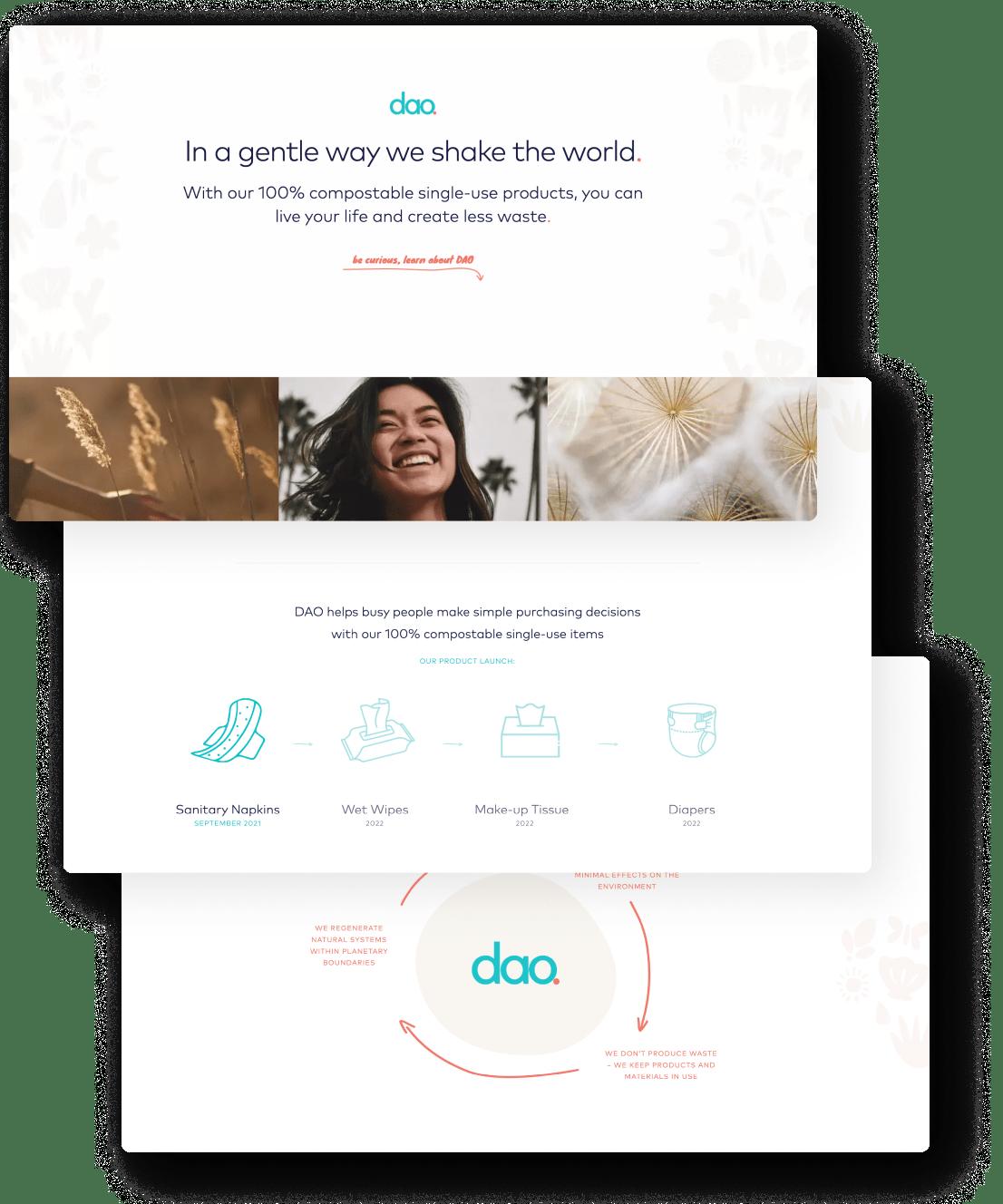 Brave Factor website showcase